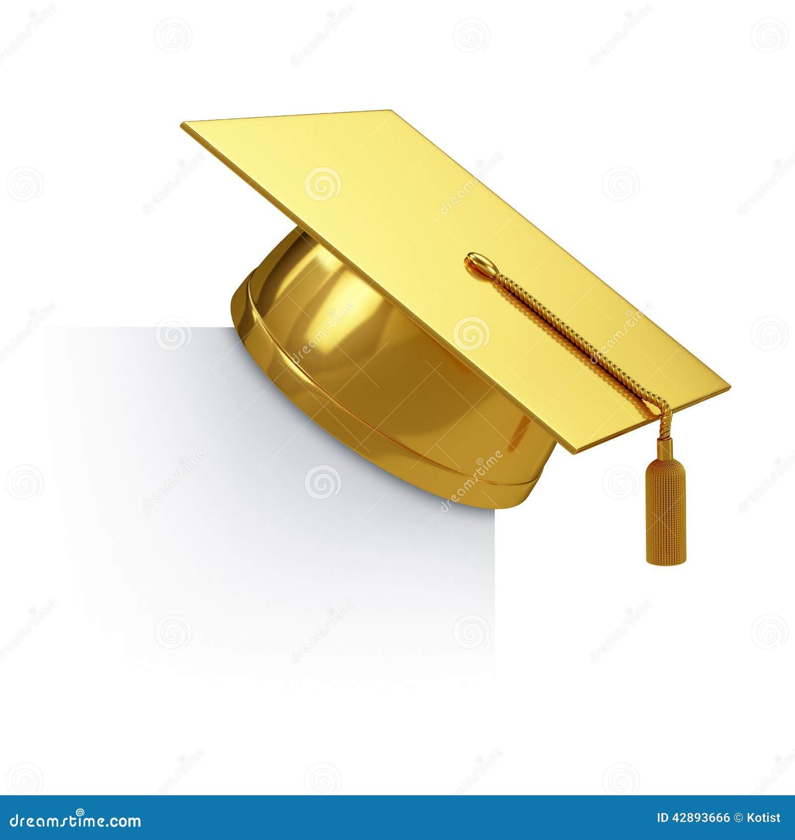 金黄毕业的盖帽