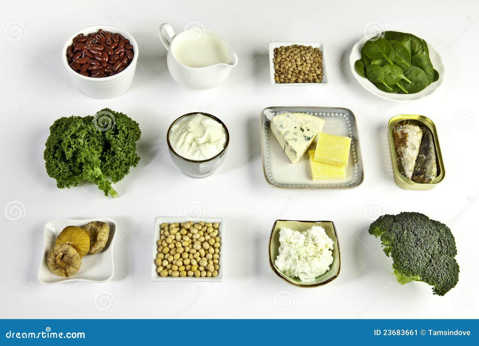 钙食物来源