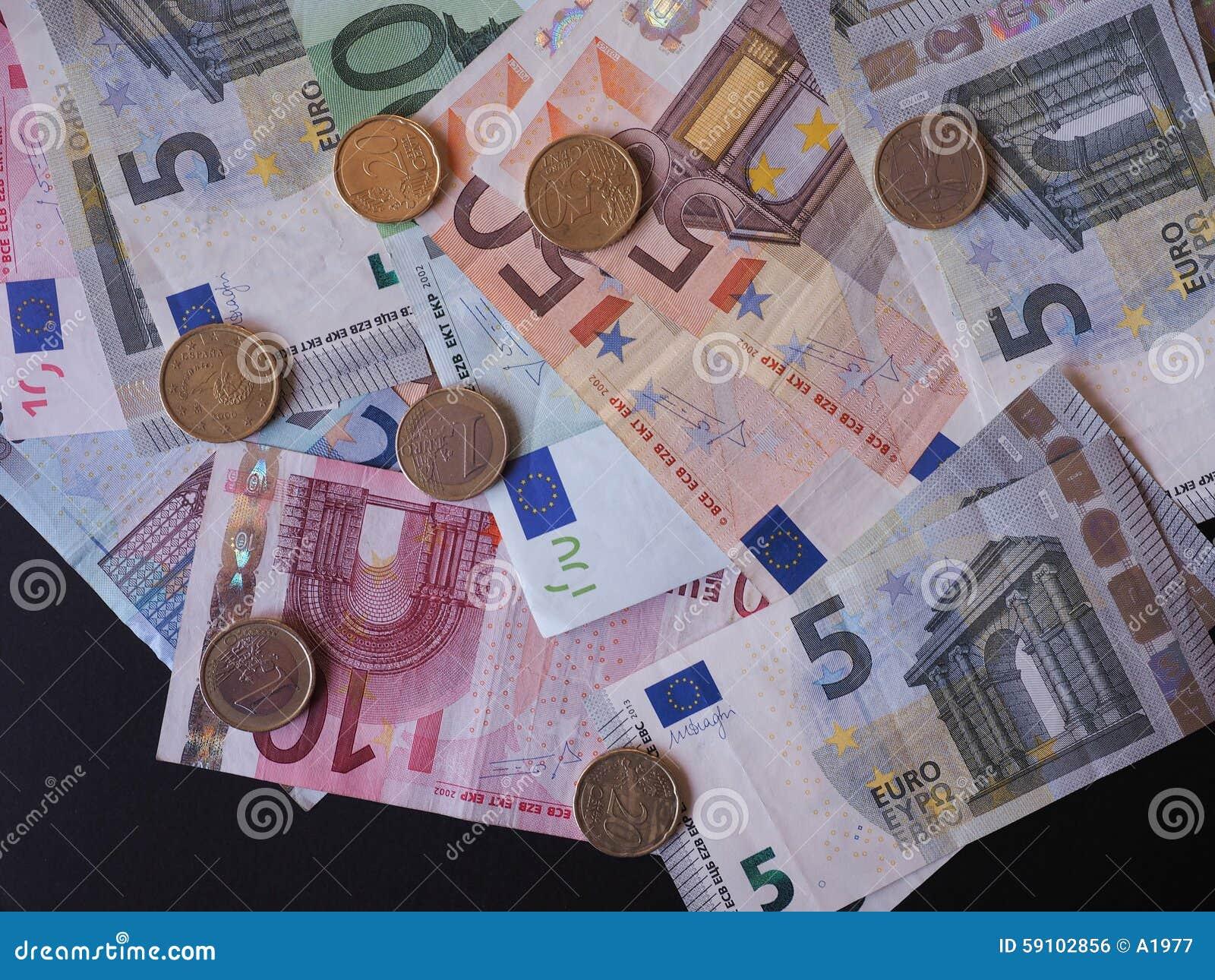 钞票概念性货币欧元五十五十