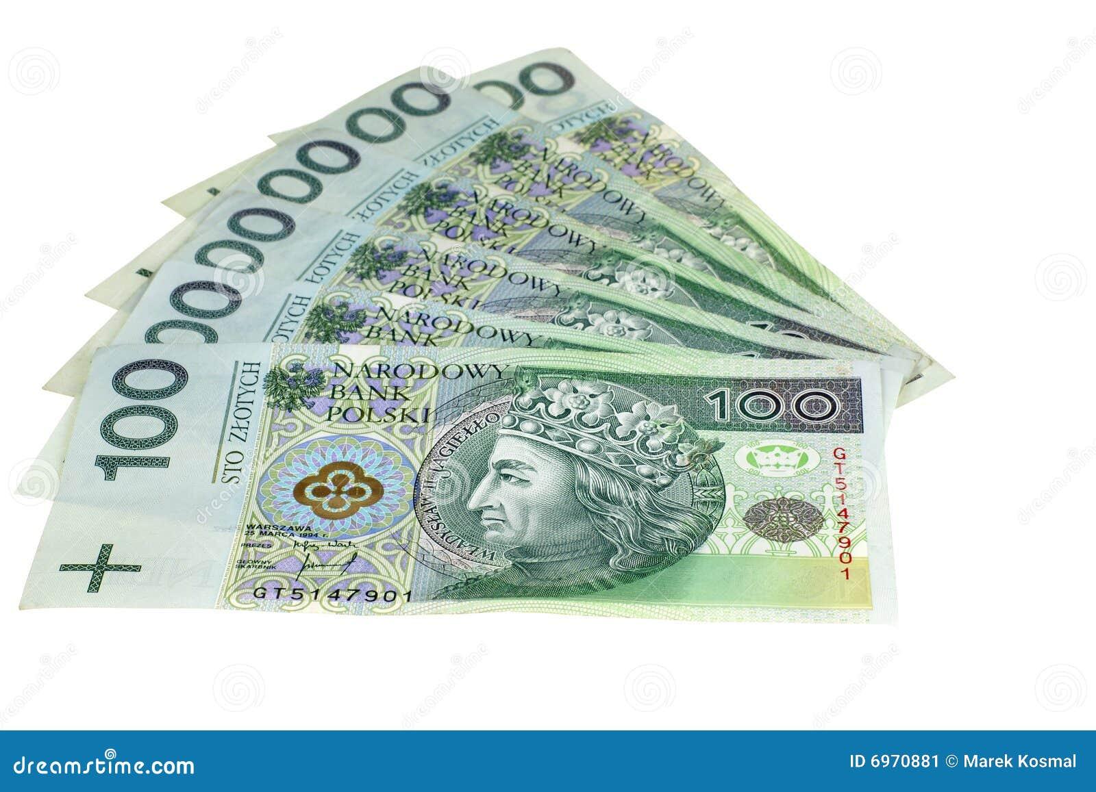 波兰币_背景剪报查出货币路径波兰白色.