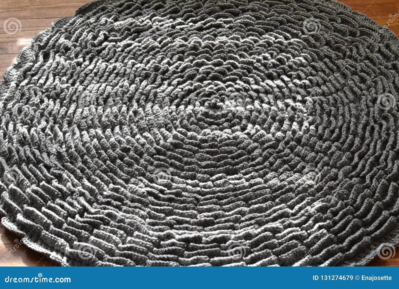 钩针编织地毯