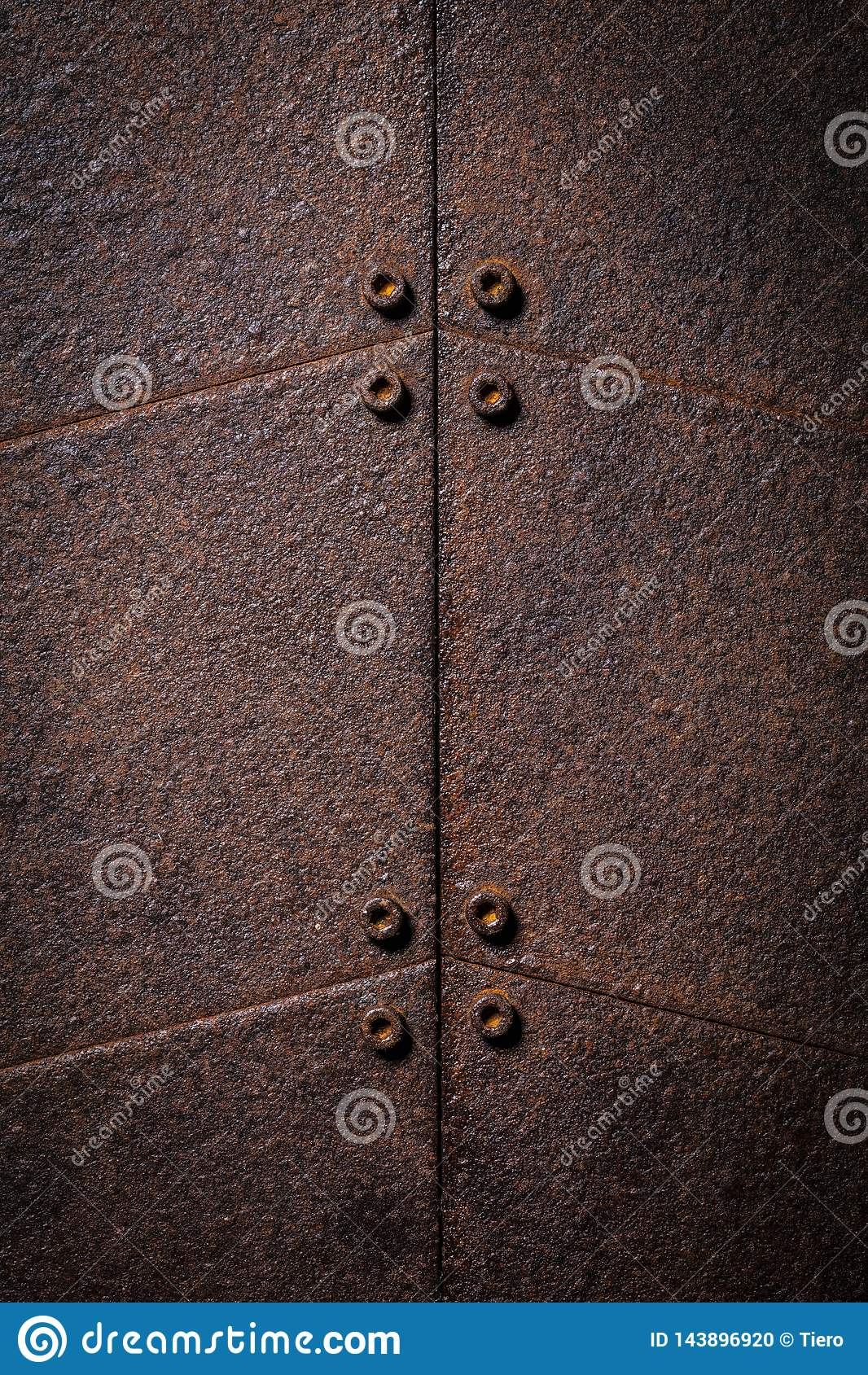铁锈金属背景