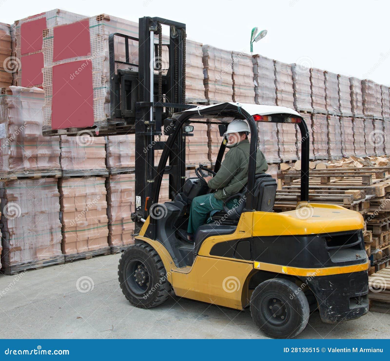铲车装入程序工作者