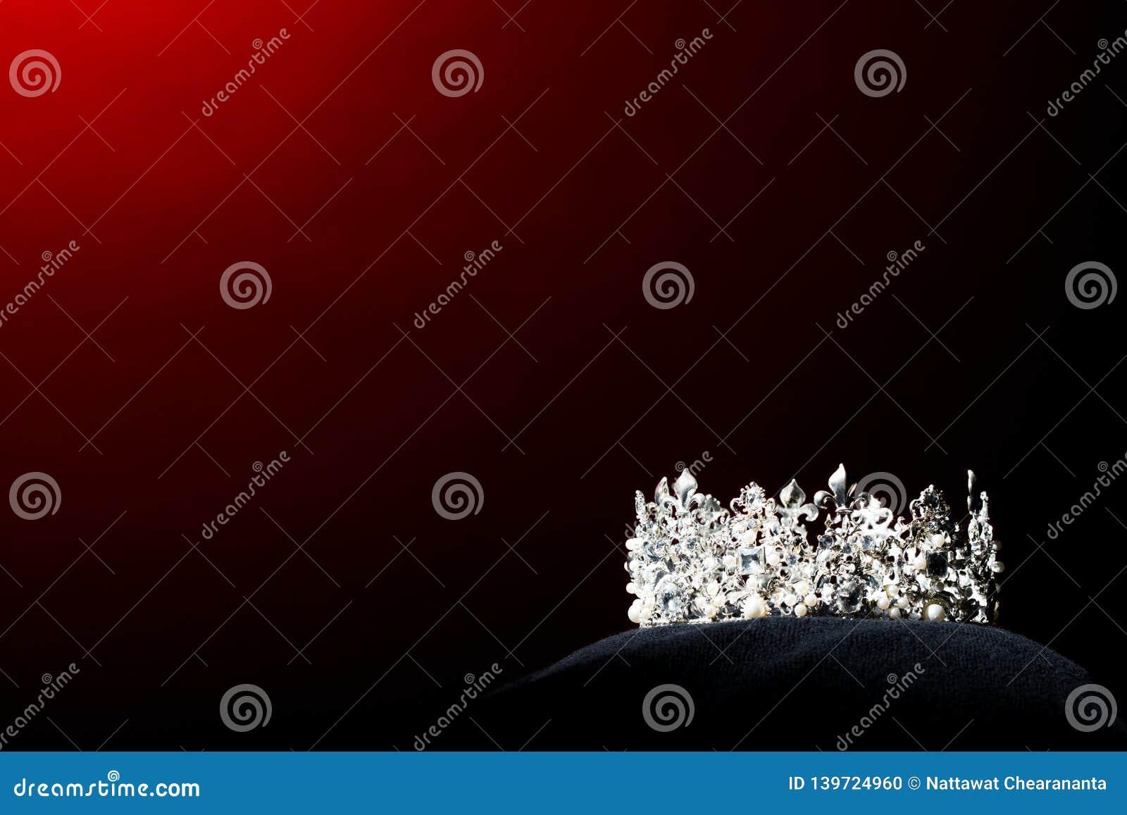 银色金刚石冠Pageant小姐选美