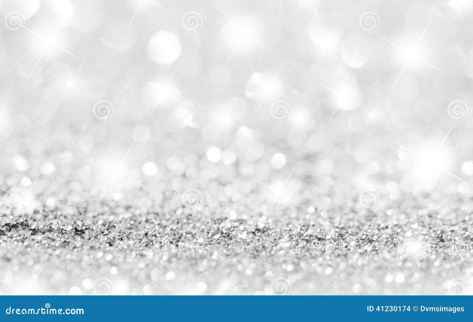 银色闪闪发光背景