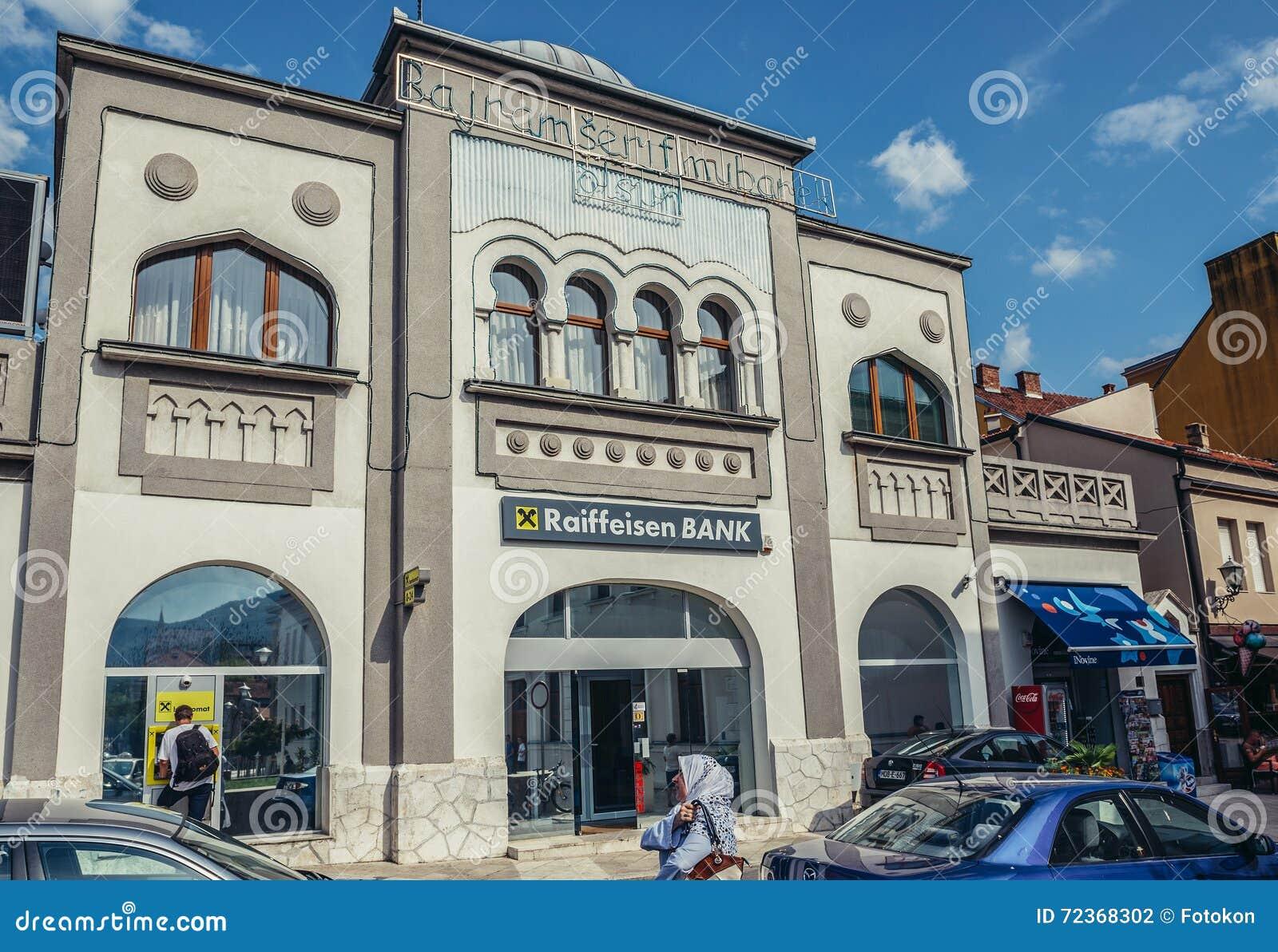 银行在莫斯塔尔