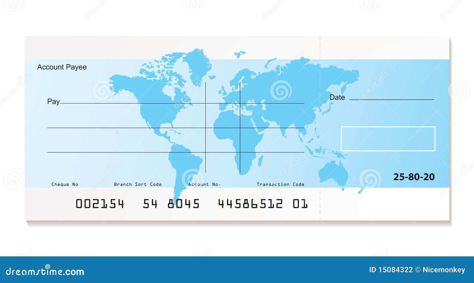 银行支票世界