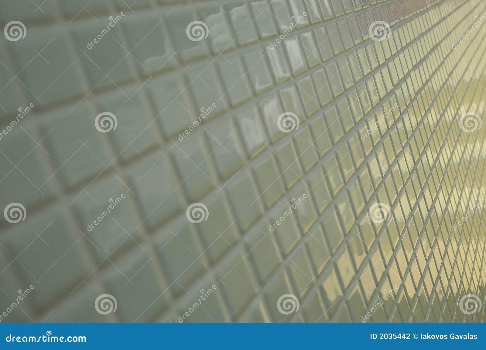 铺磁砖的墙壁白色