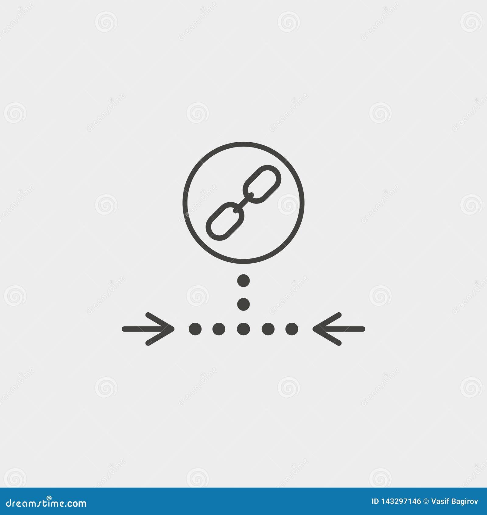 链接,网,象,概述,象 网发展传染媒介象 简单的标志,网络设计,流动应用程序的元素网站的,