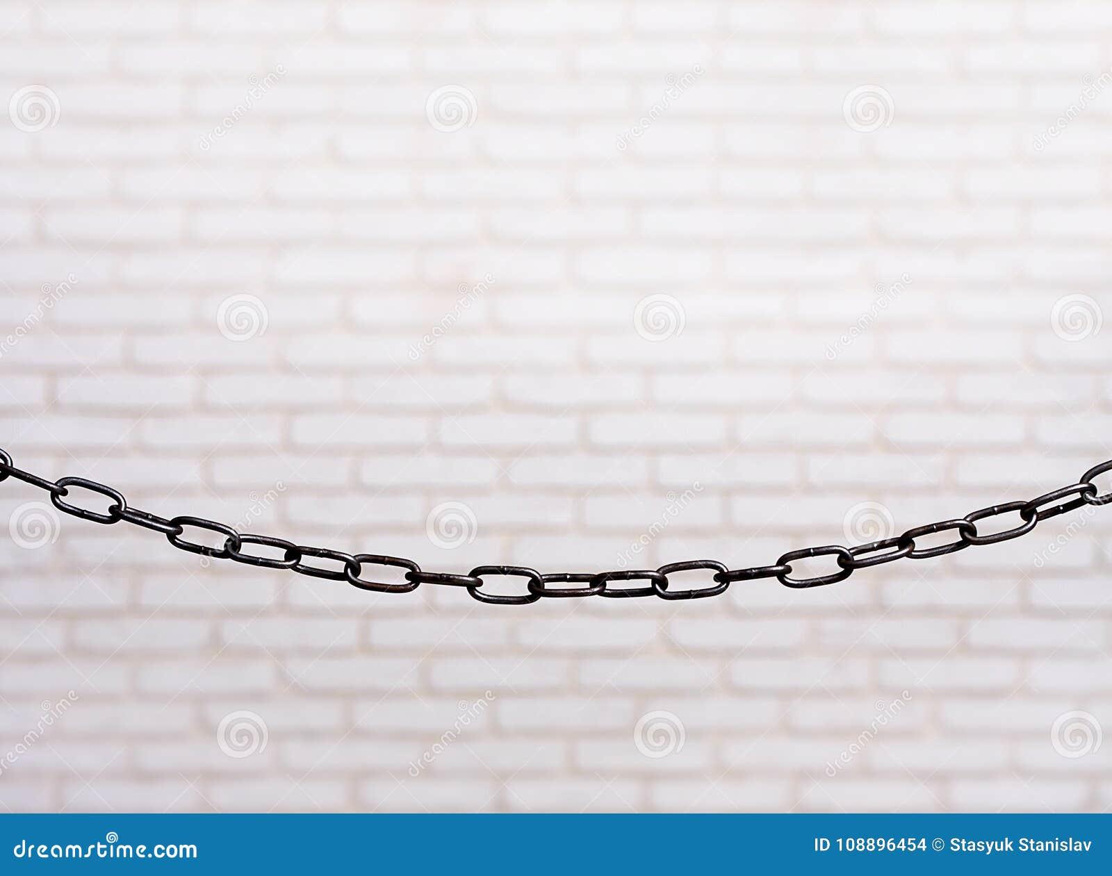 链白色墙壁