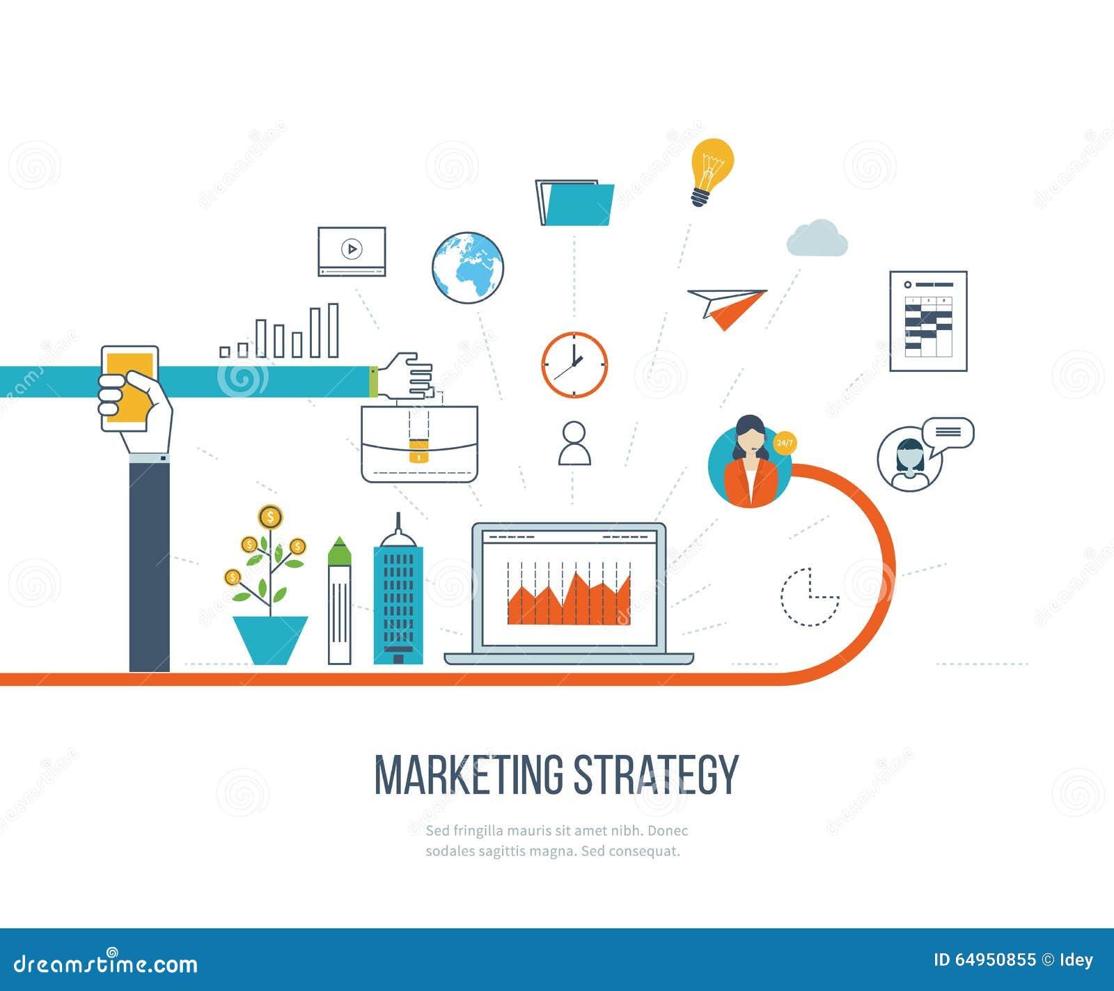 销售方针和内容营销 投资管理 种族分界线象