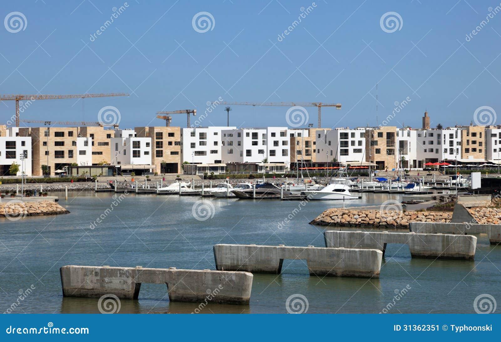 销售的,摩洛哥小游艇船坞Bouregreg