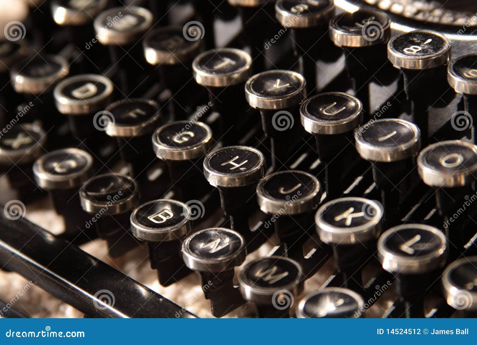 锁上打字机