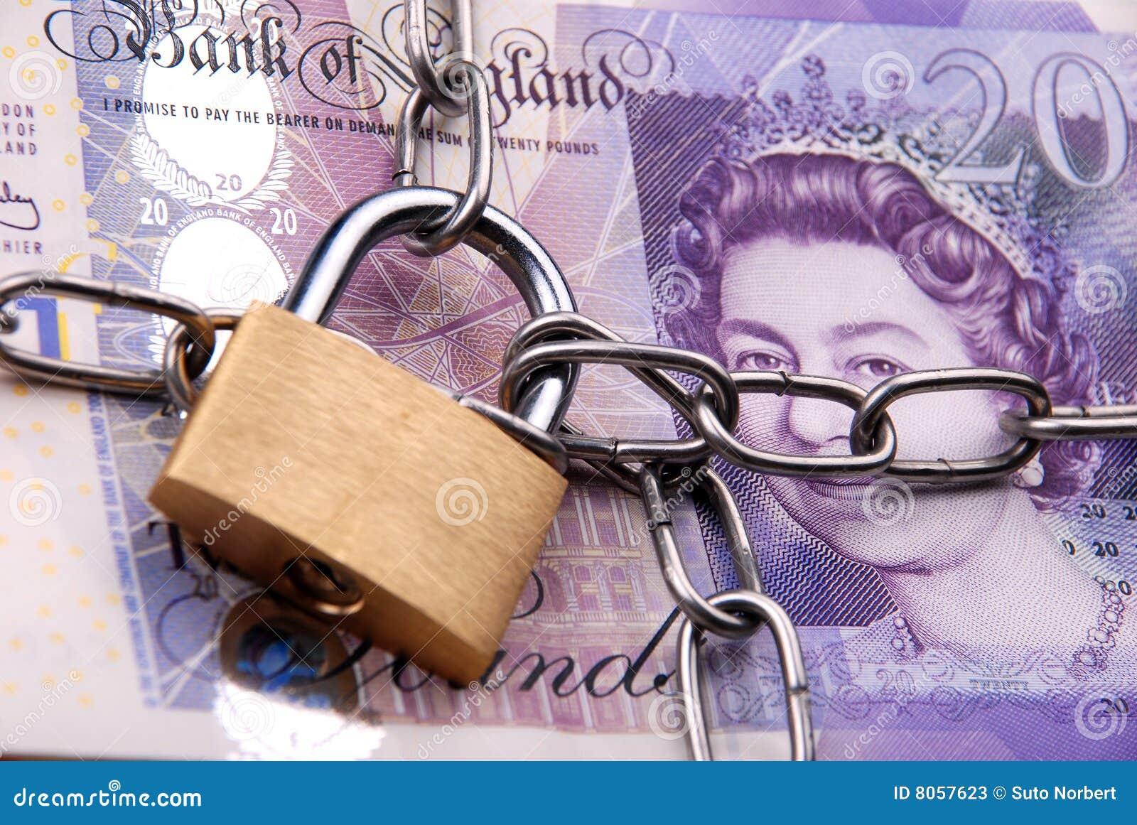锁着的货币