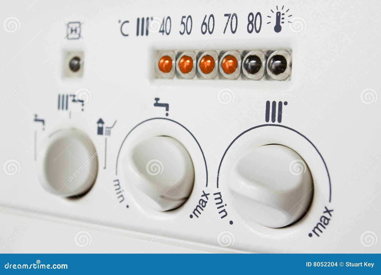 锅炉中央控制加热