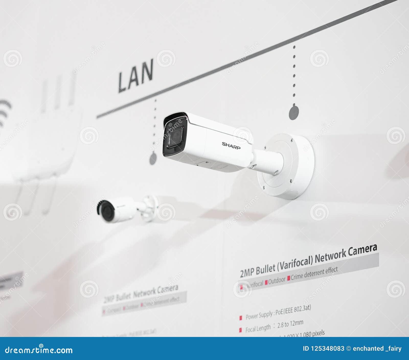 锋利的安全监控相机