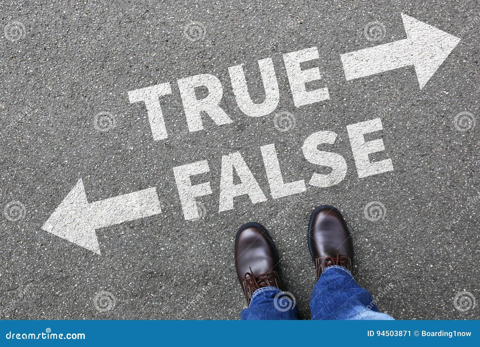错误真实的真相伪造品新闻谎言说谎的事实决定决定compa