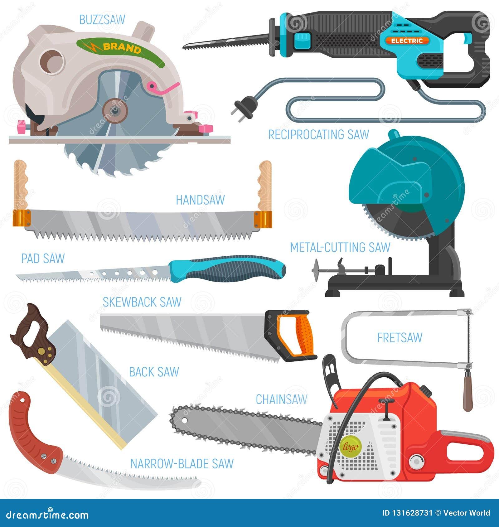 锯传染媒介锯切设备手锯引形钢锯锯和pullsaw锯木屑木匠业有锋利的刀片的金属工具为