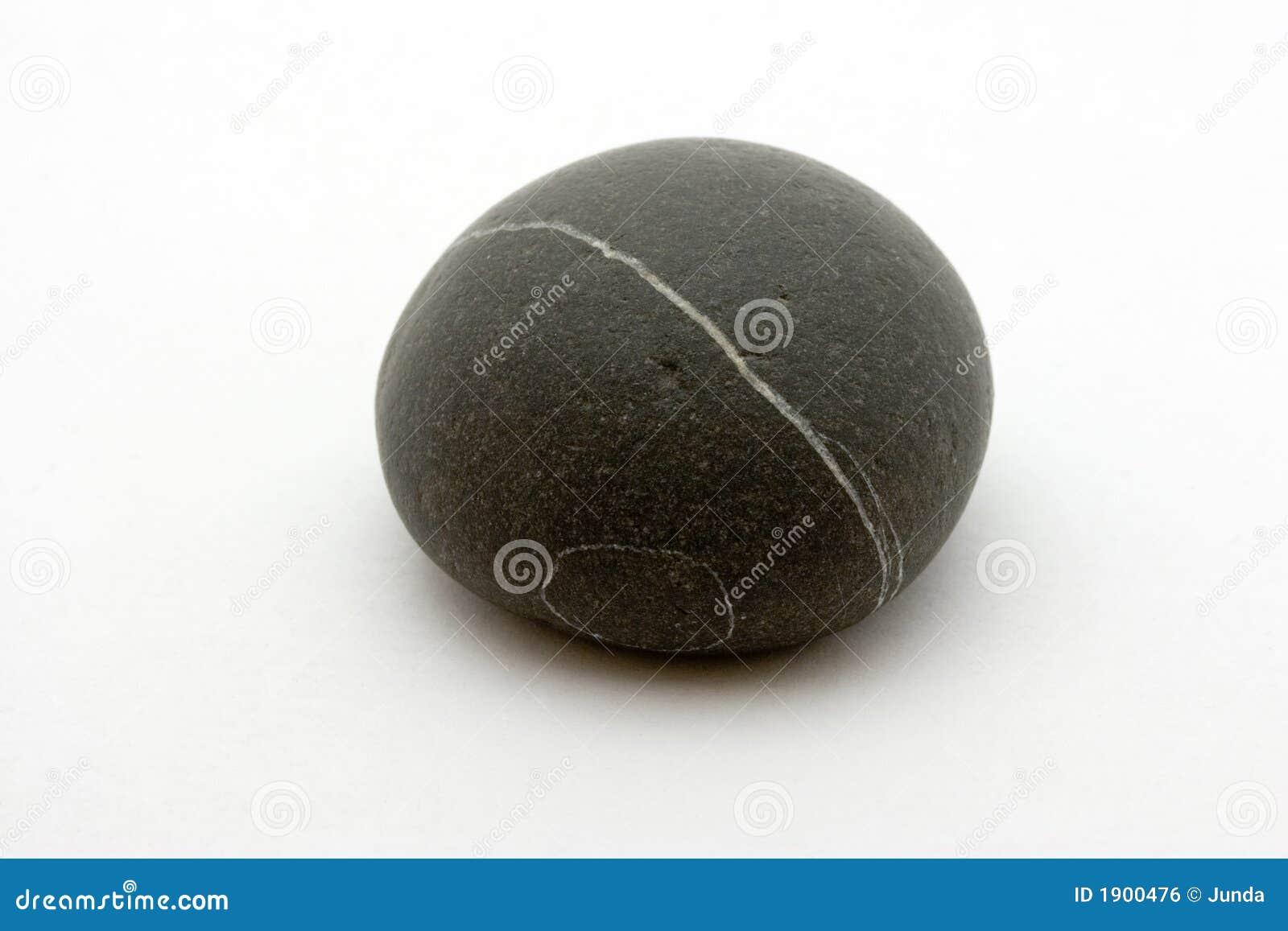 镶边的黑色岩石