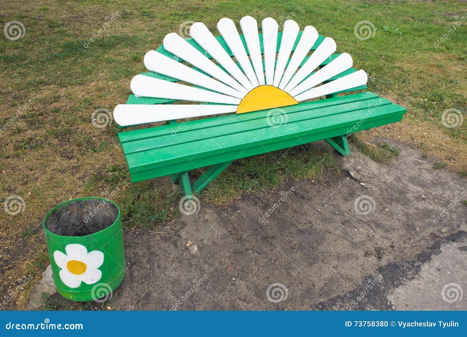 长凳-雏菊