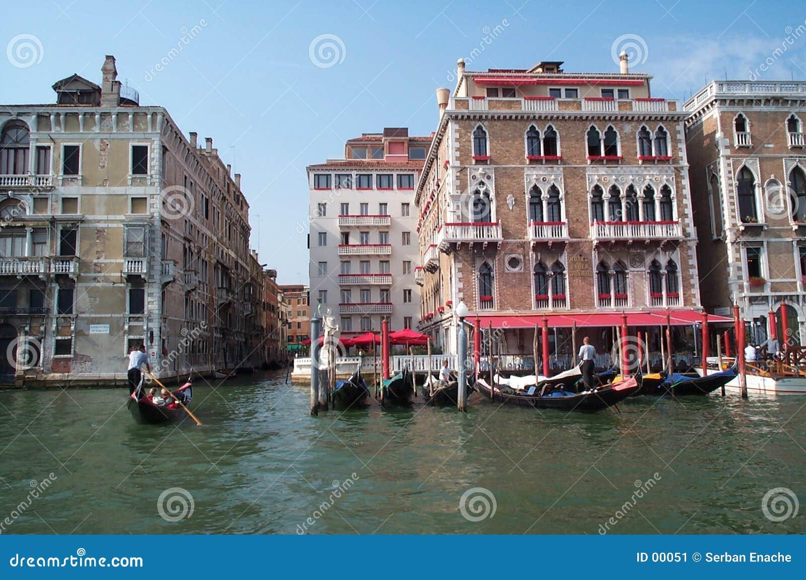 长平底船威尼斯