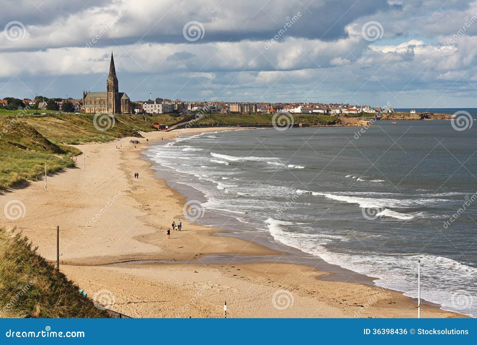 长的沙子南海滩