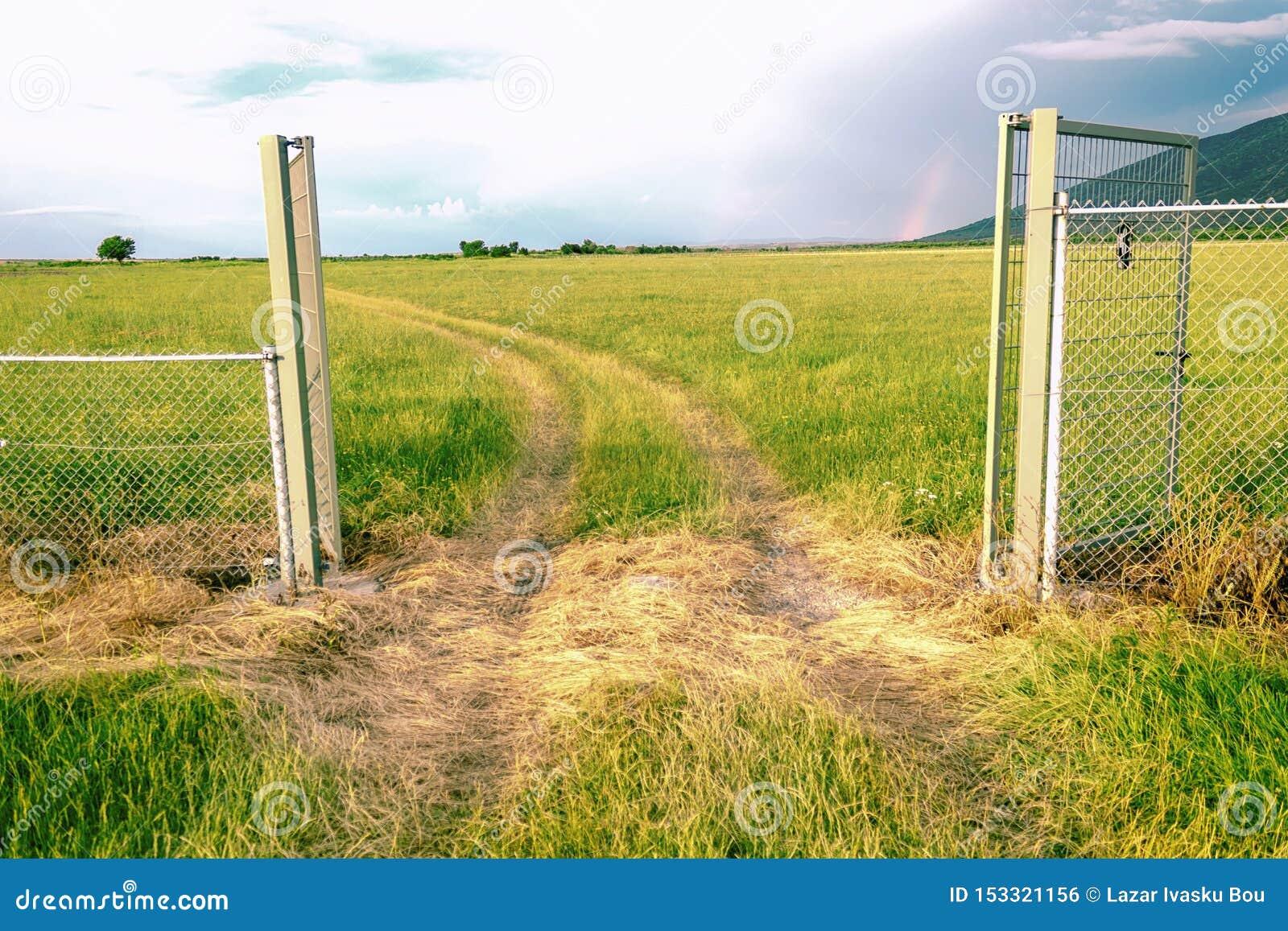 门对美好的自然