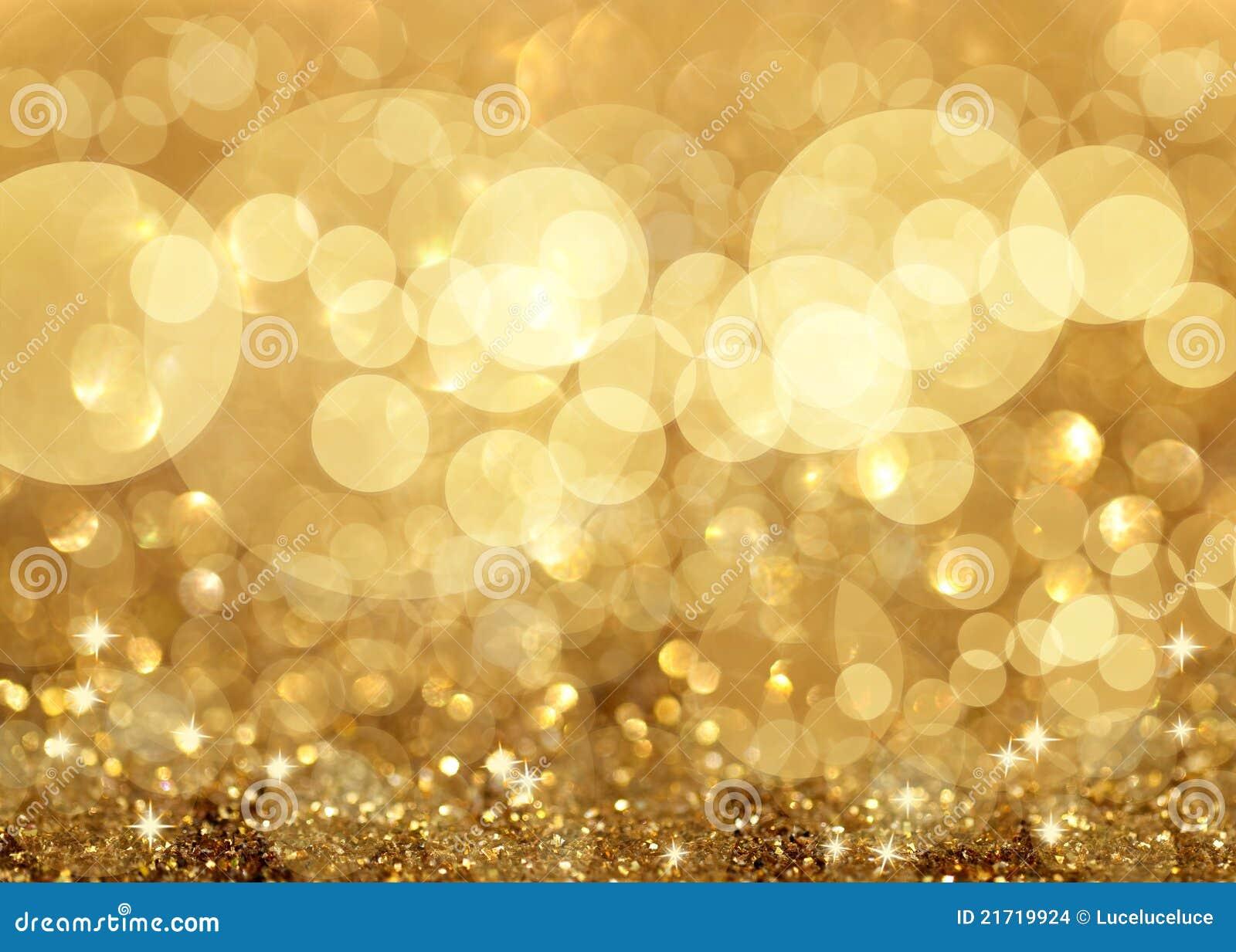 闪光的光和星形圣诞节背景