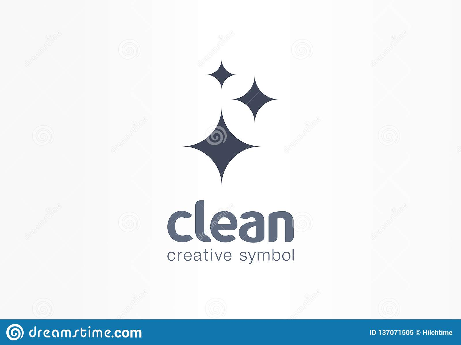 闪闪发光星,新创造性的标志概念 闪电,天文,强光,清洁公司摘要企业商标