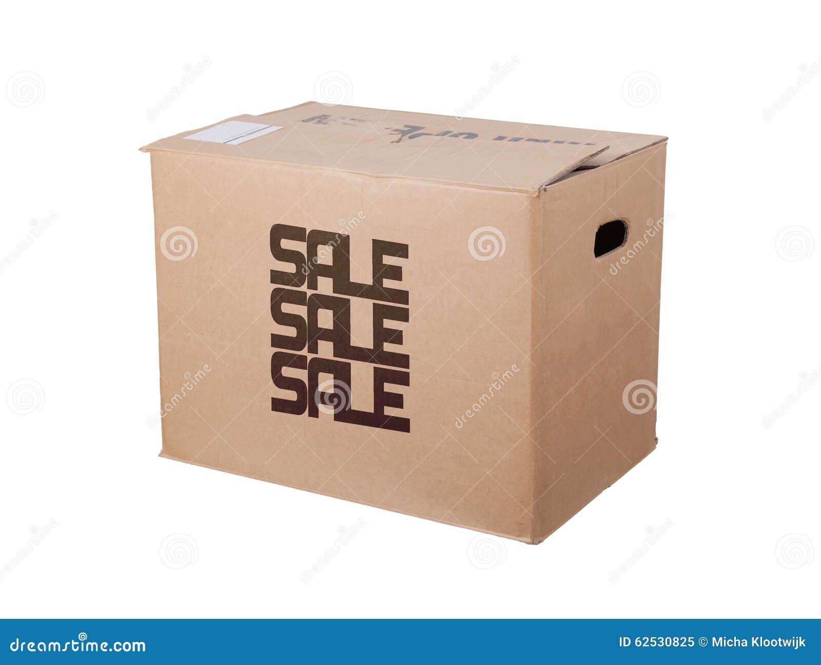 闭合的纸板箱,被隔绝