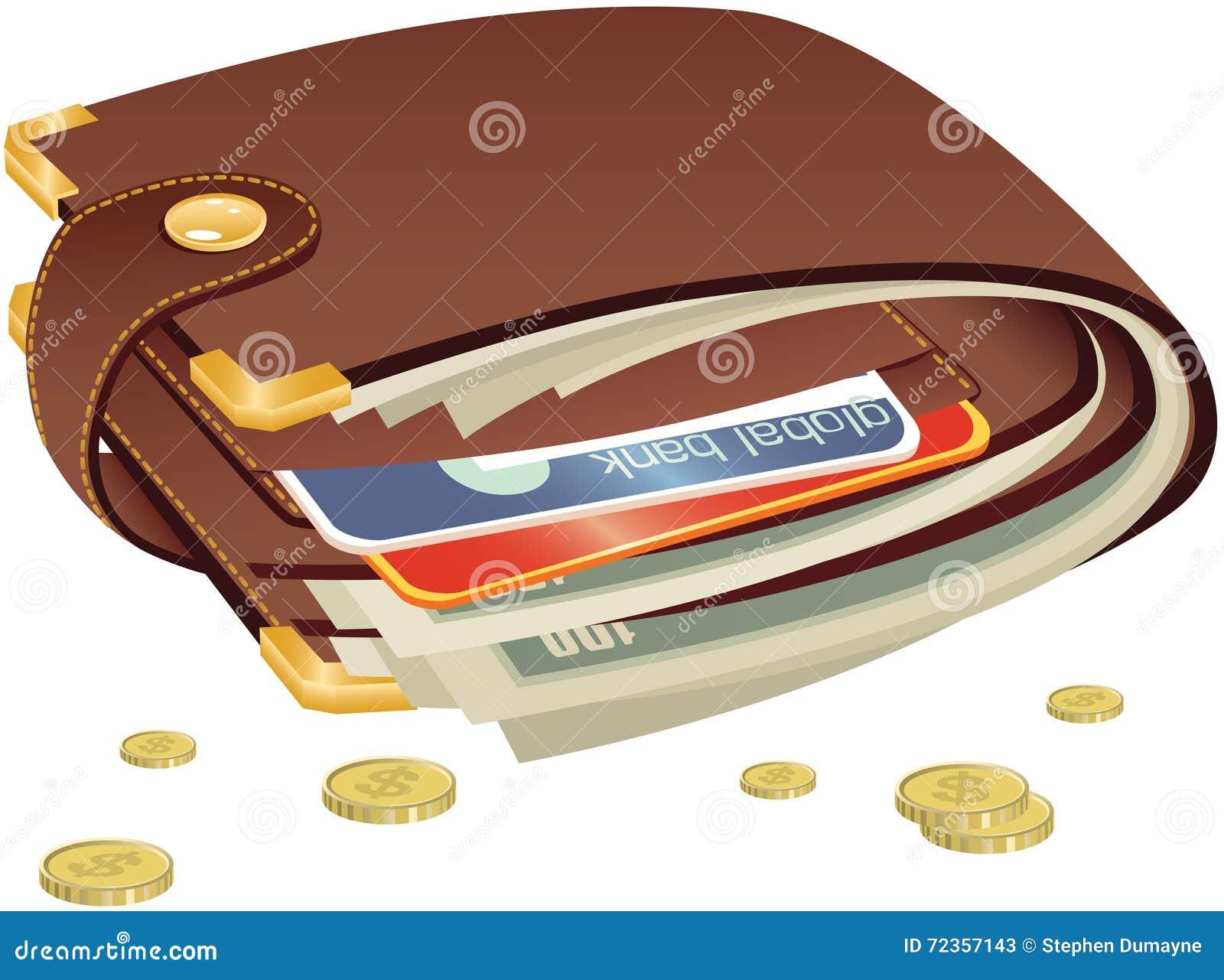 闭合的钱包