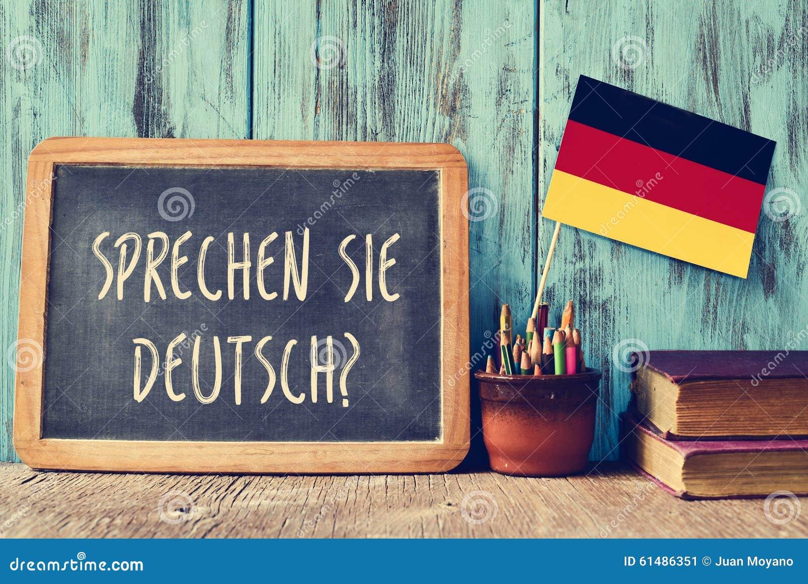 问题sprechen sie德意志?您是否讲德语?