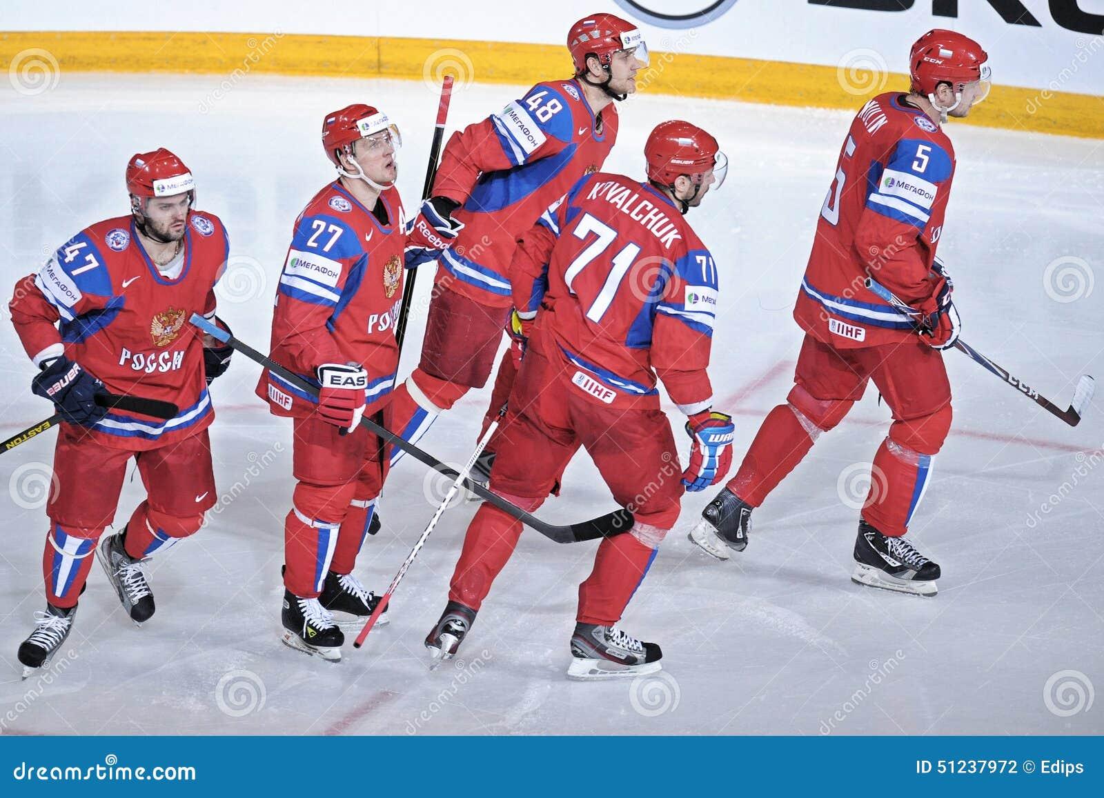 队俄罗斯冰曲棍球队