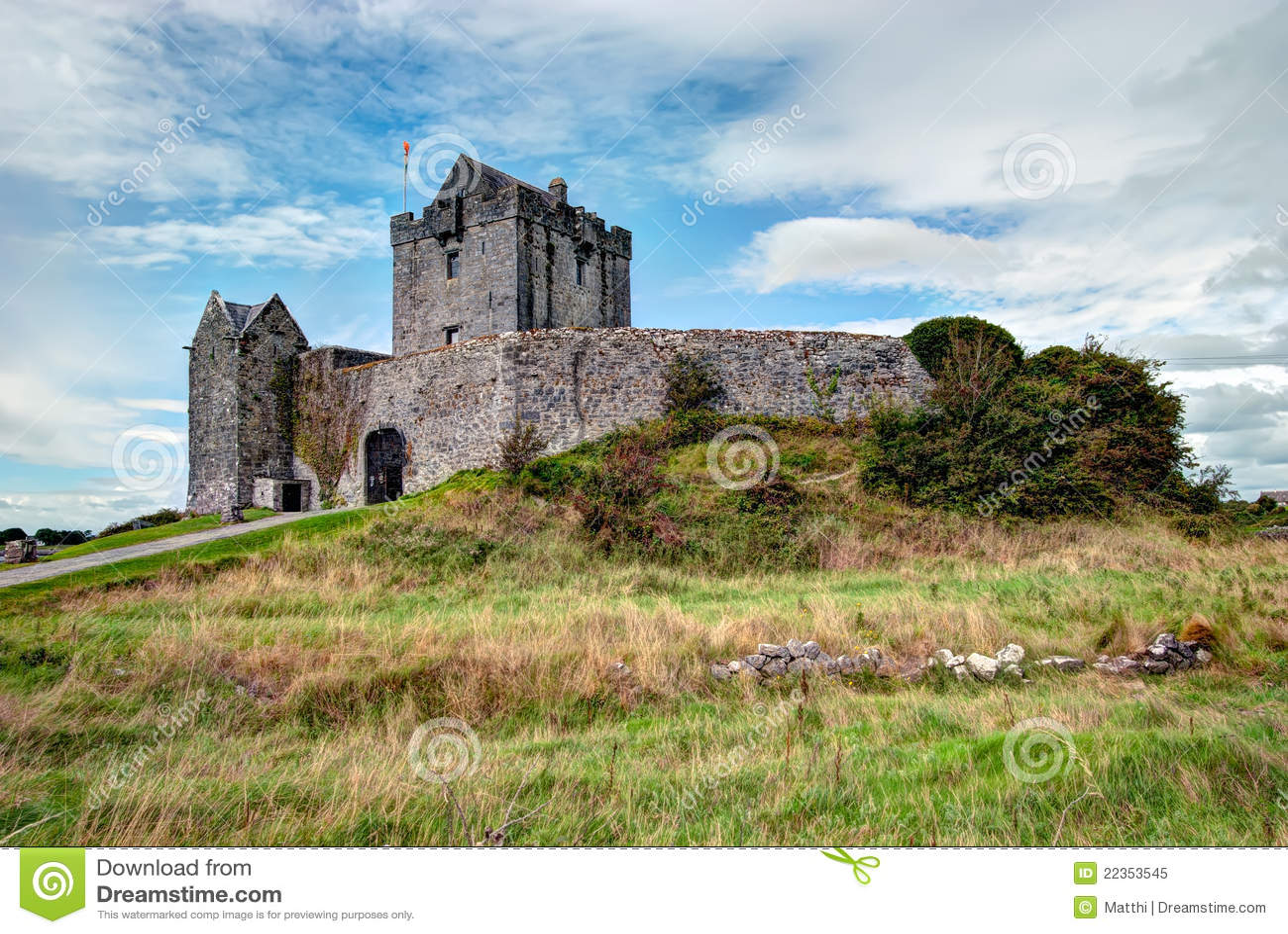 防御dunguaire爱尔兰