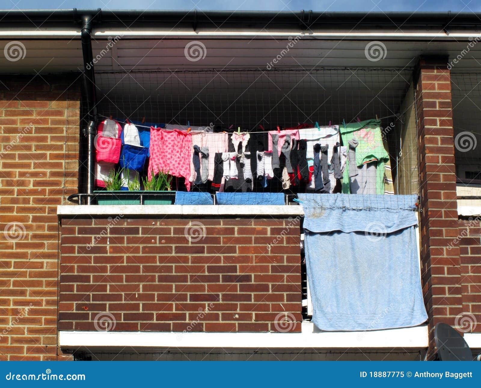 阳台理事会公寓