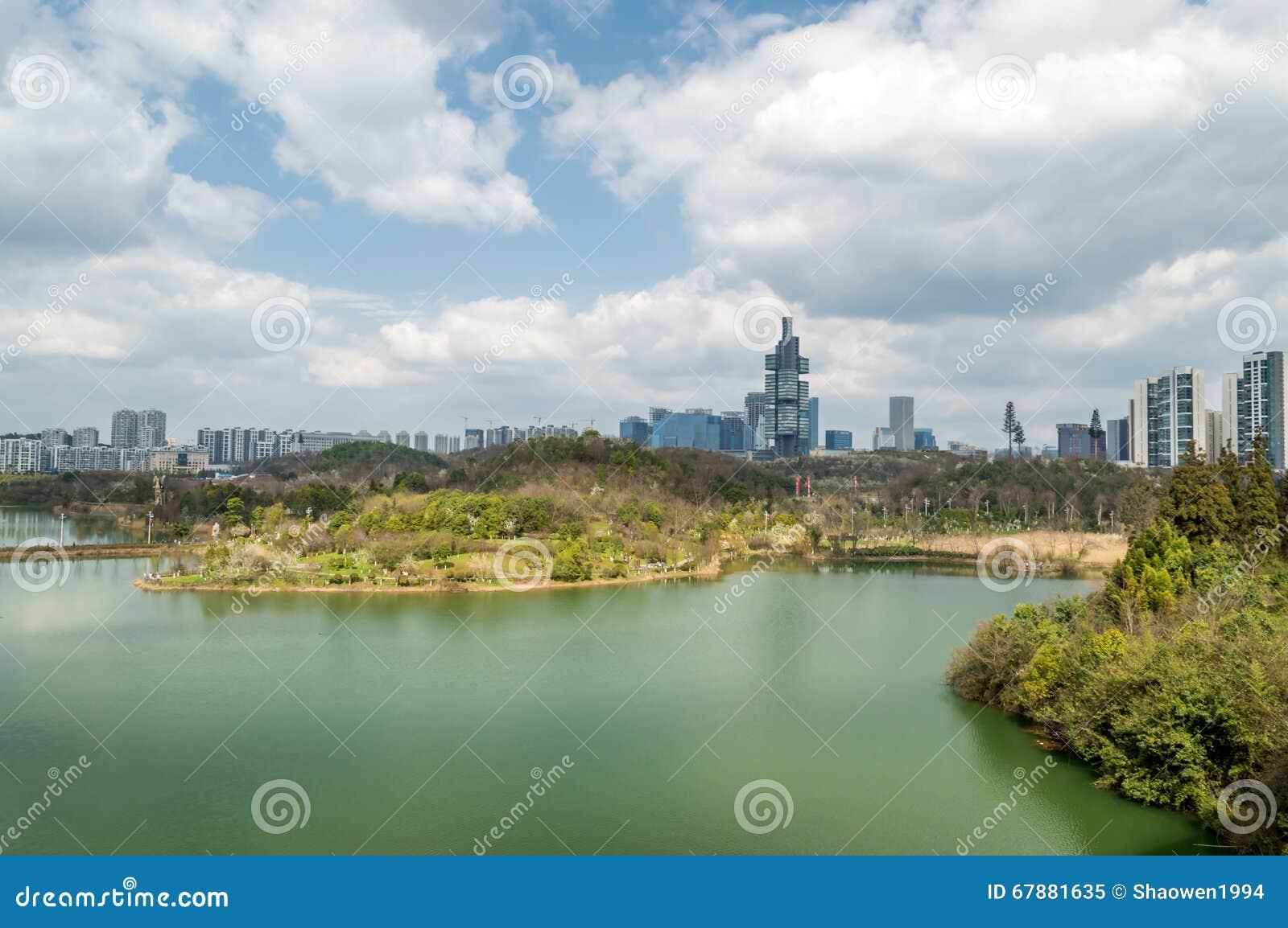 贵阳city—中心公园湖图3