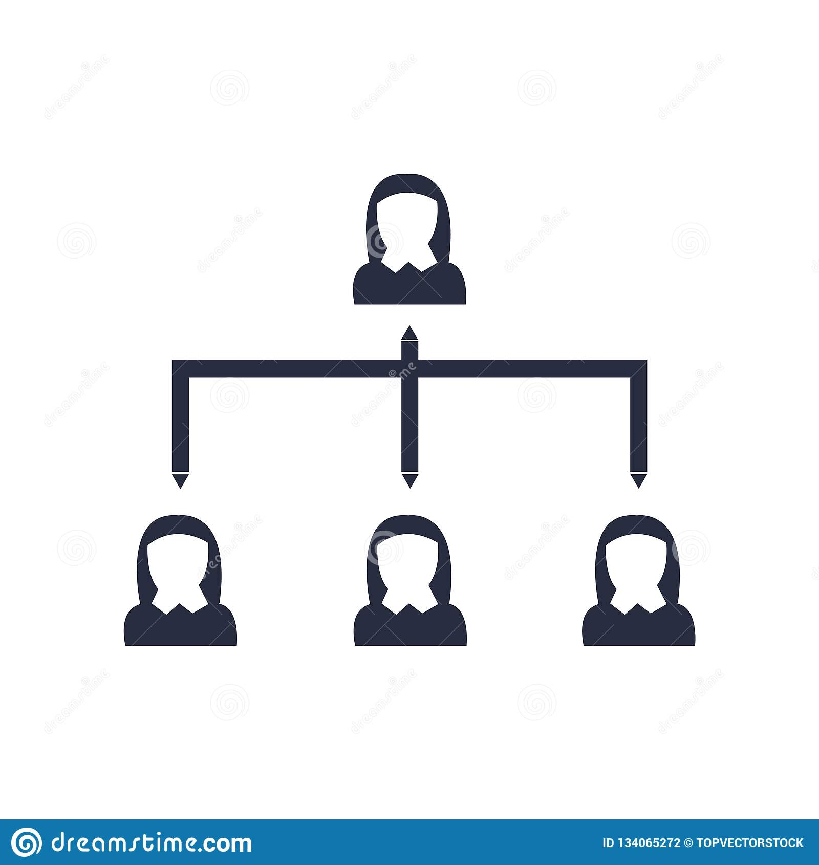阶式结构象在白色背景和标志隔绝的传染媒介标志,阶式结构商标概念