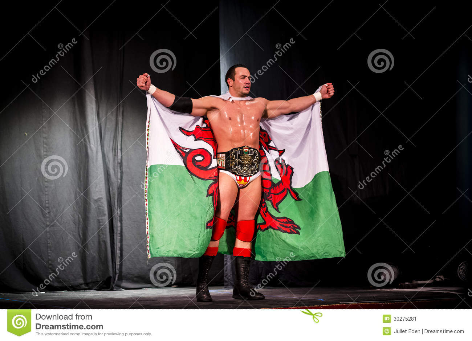 威尔士摔跤手