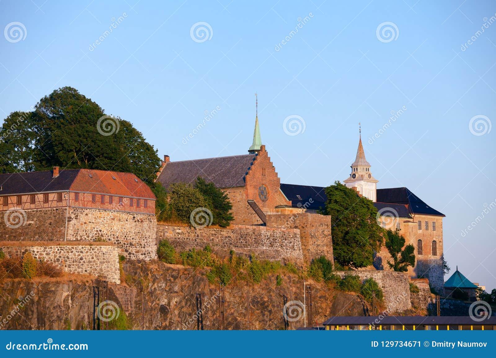 阿克什胡斯城堡和堡垒奥斯陆中部挪威Scandanavia
