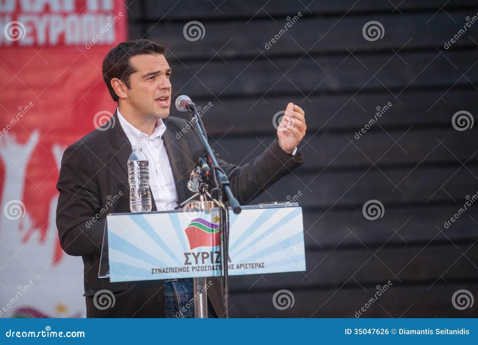 阿列克西斯・齐普拉斯是希腊左派政客, SYRI的头