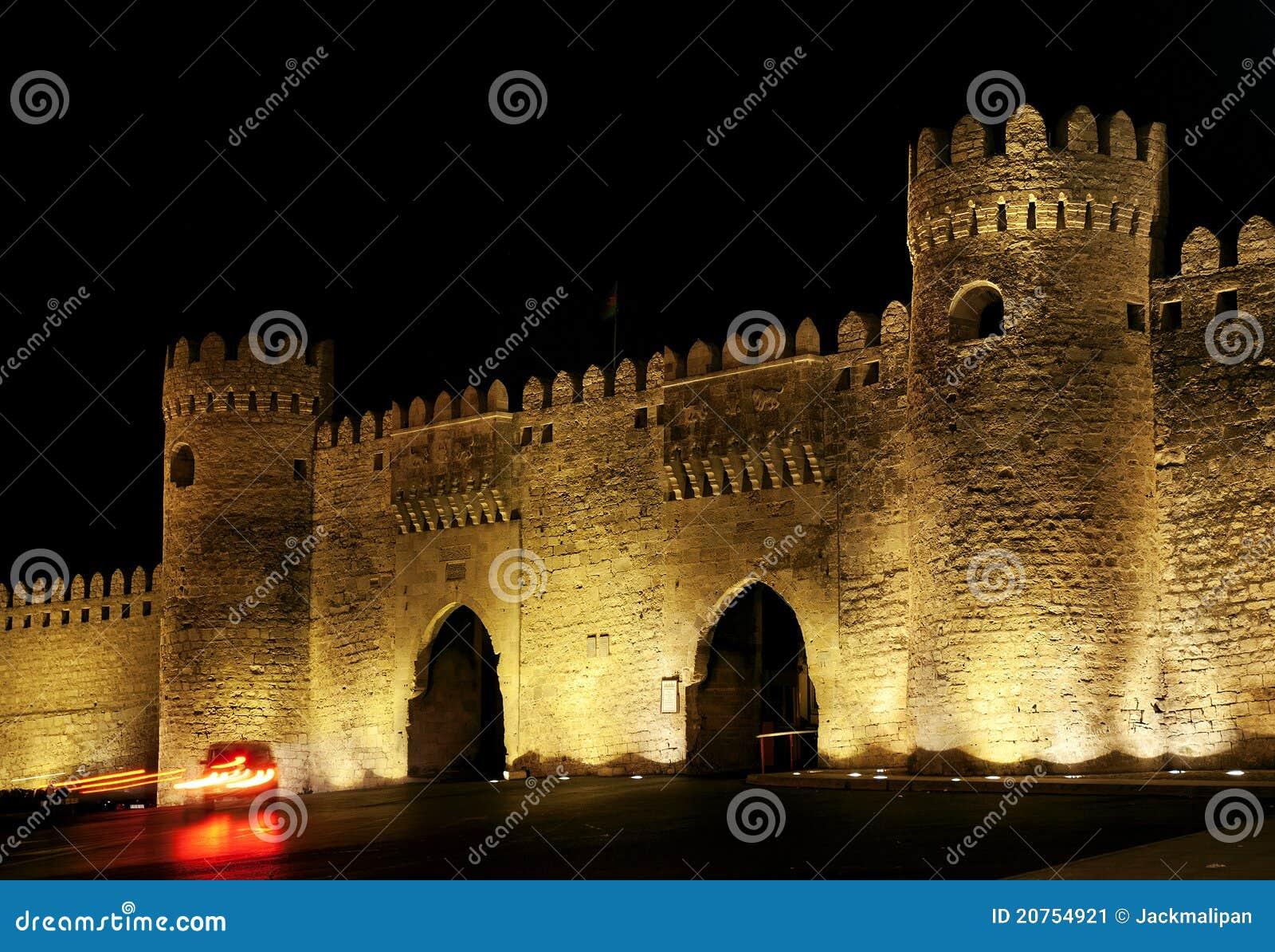 阿塞拜疆巴库门老城镇