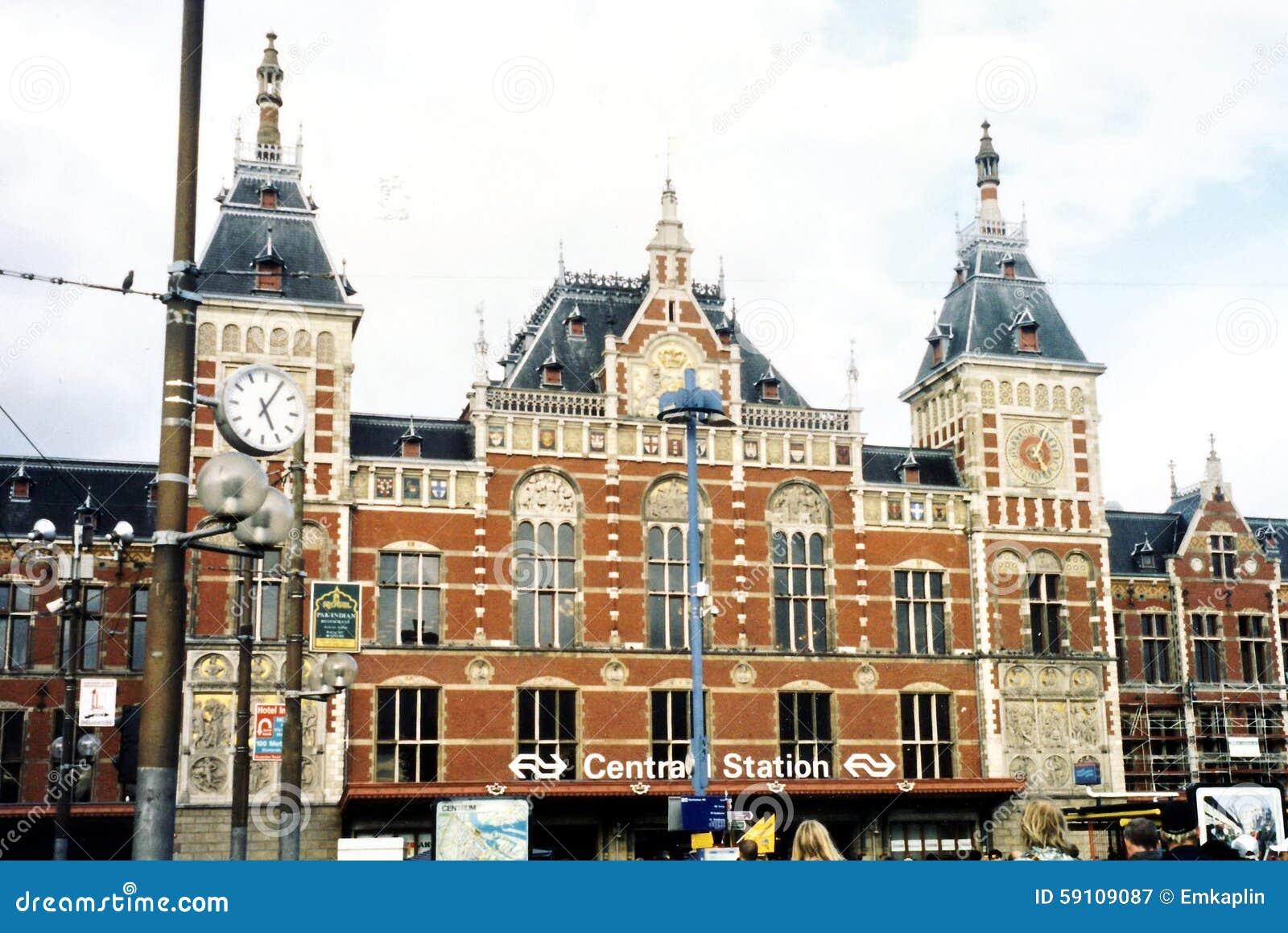 阿姆斯特丹中央铁路2002年