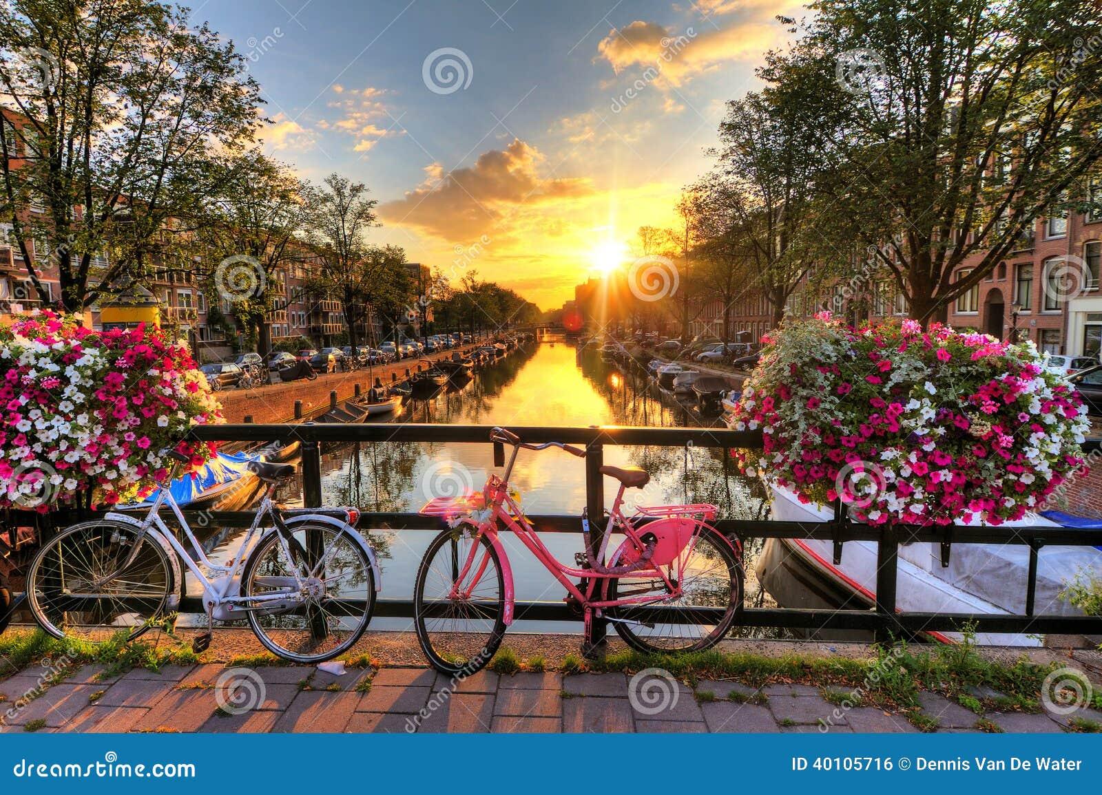 阿姆斯特丹夏天日出