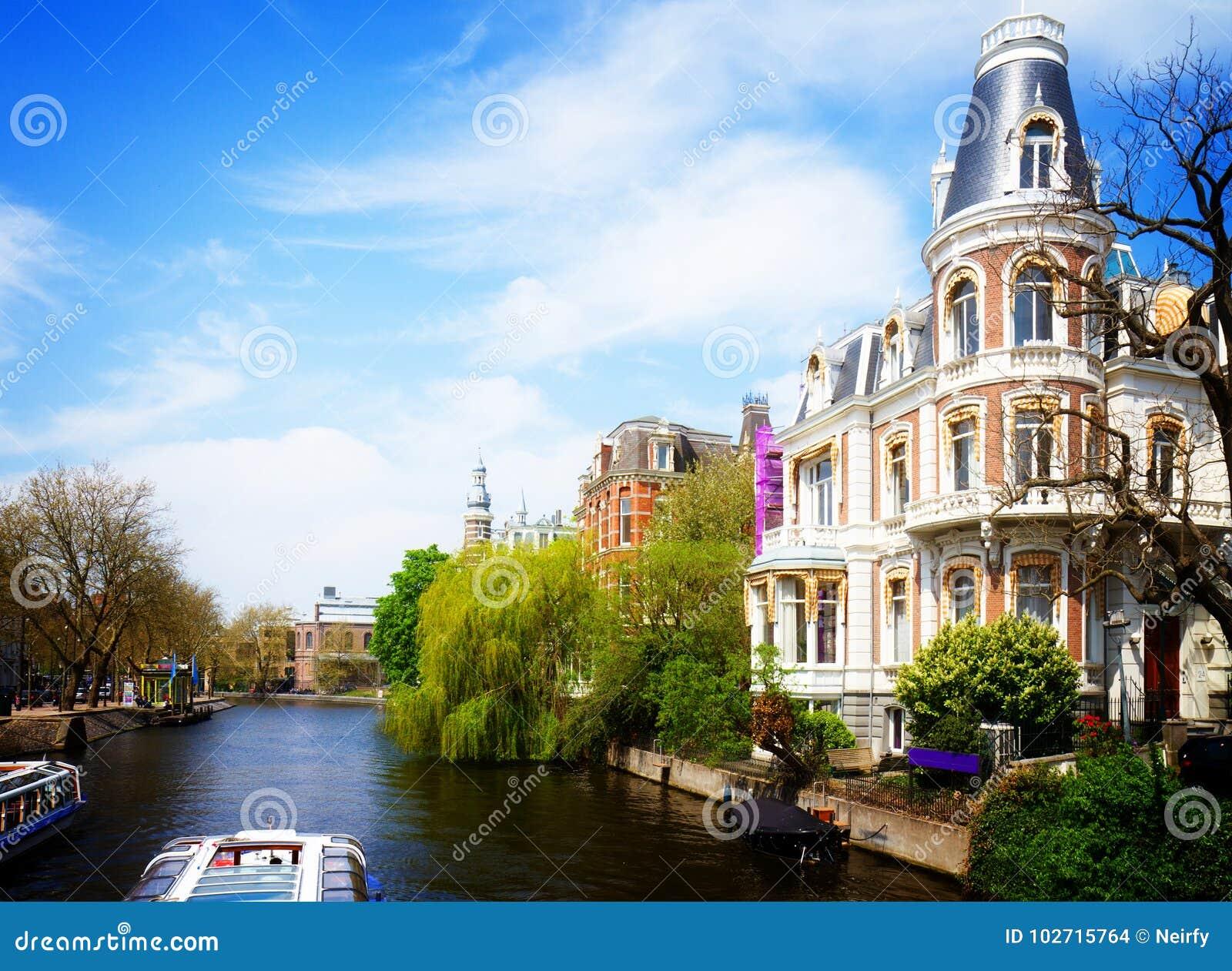阿姆斯特丹运河一