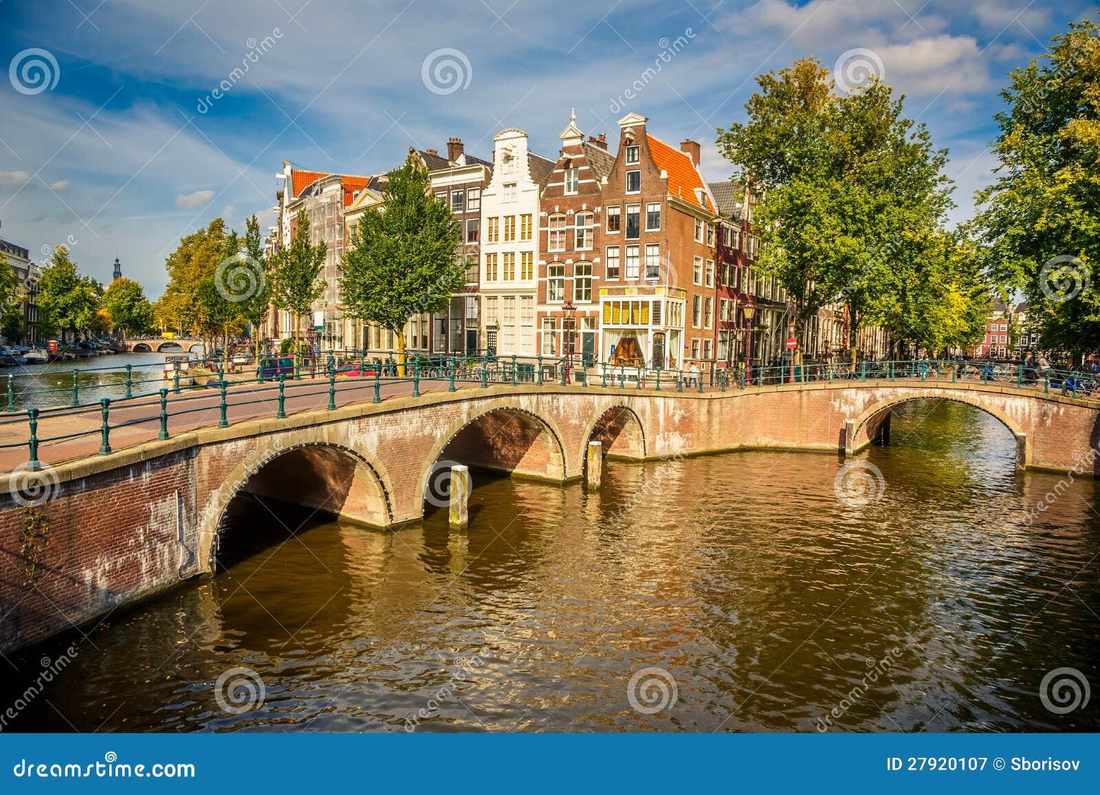 阿姆斯特丹都市风景