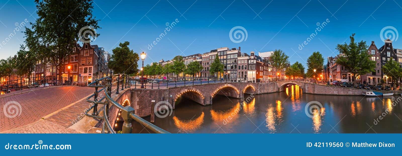 阿姆斯特丹,荷兰的反射