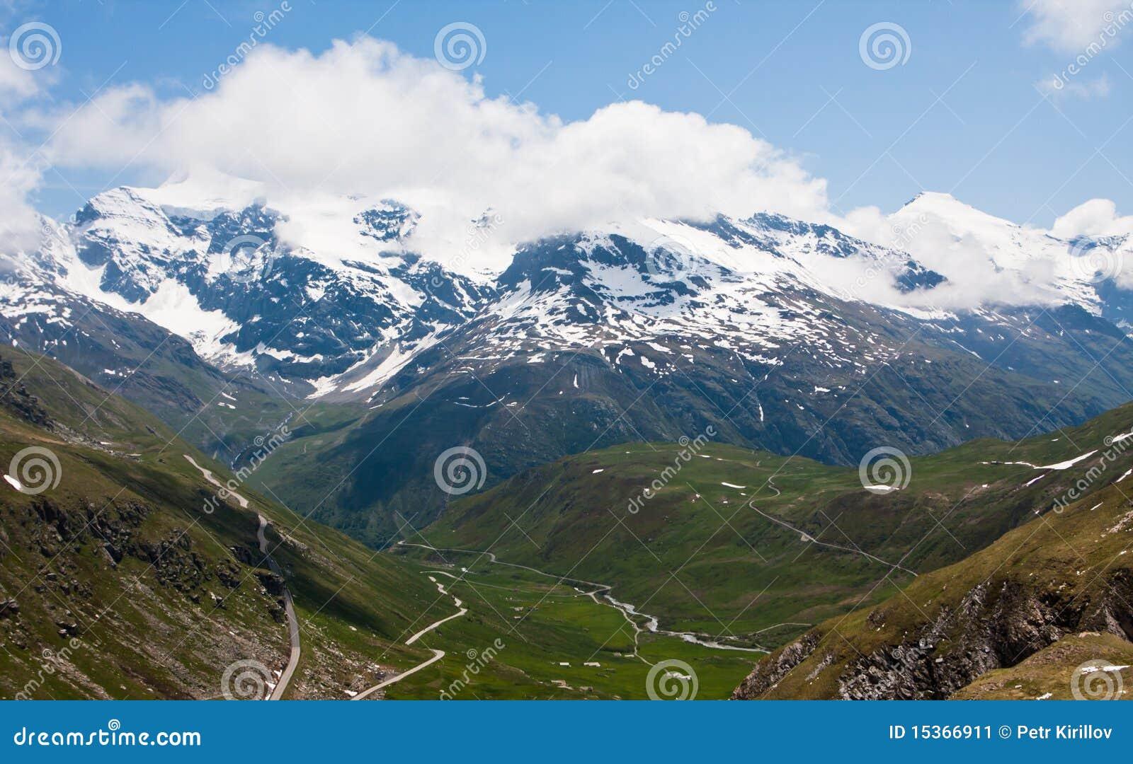 阿尔卑斯法国山谷