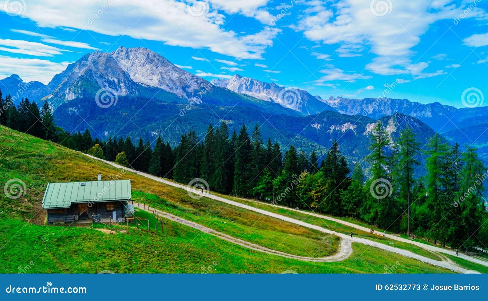 阿尔卑斯6的全景