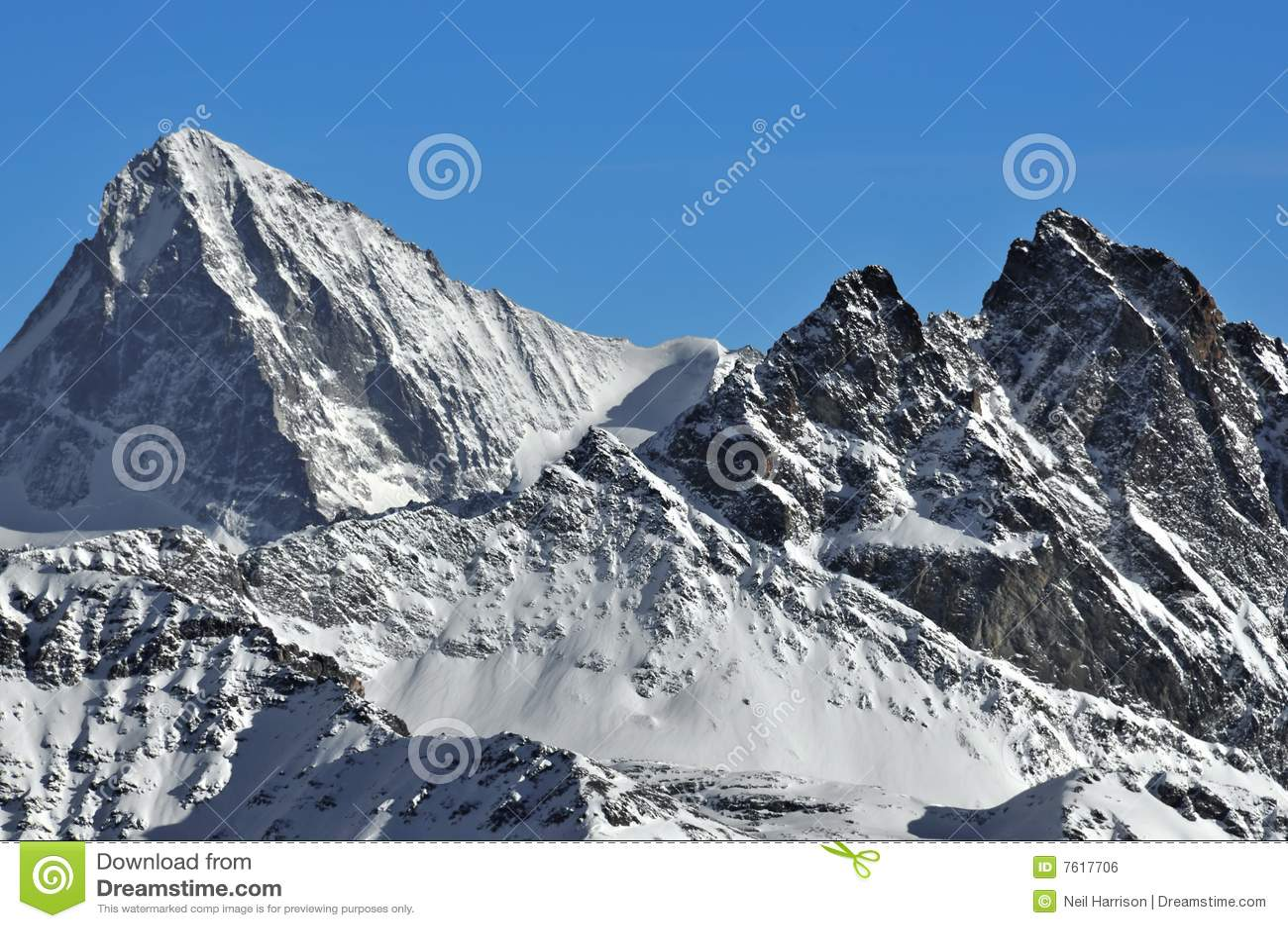阿尔卑斯blanche消弱瑞士vesuvie