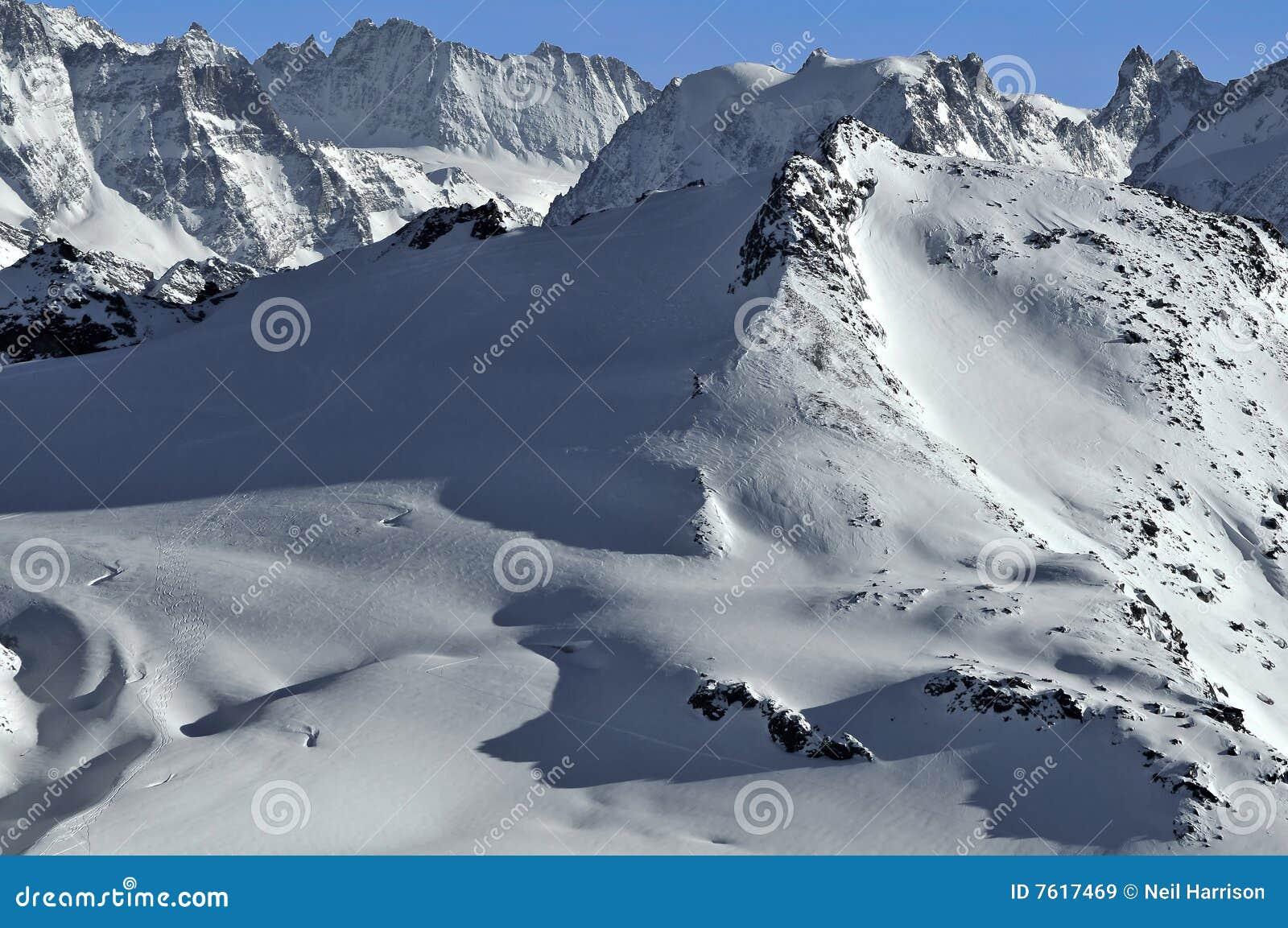 阿尔卑斯rosablanche瑞士